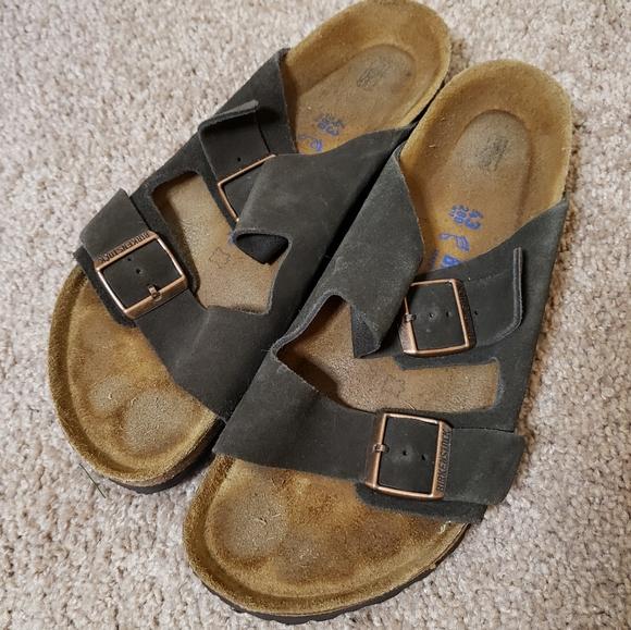 Birkenstock Suede Mens Arizona Sandal 4310
